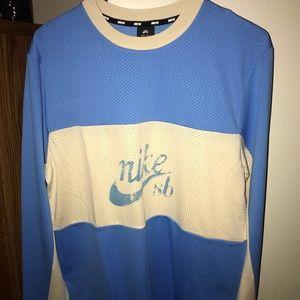 Rare Long sleeve Nike SB mesh shirt